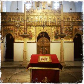 Die orthodoxe Kirche ist breiter wie lang (Foto: balkanblogger)