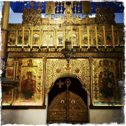 Das Innere ist reich geschmückt ... (Foto: balkanblogger)