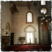 Zum Komplex gehören noch eine Bibliothek und ein Hammam, das soeben renoviert wird (Foto: balkanblogger.com)