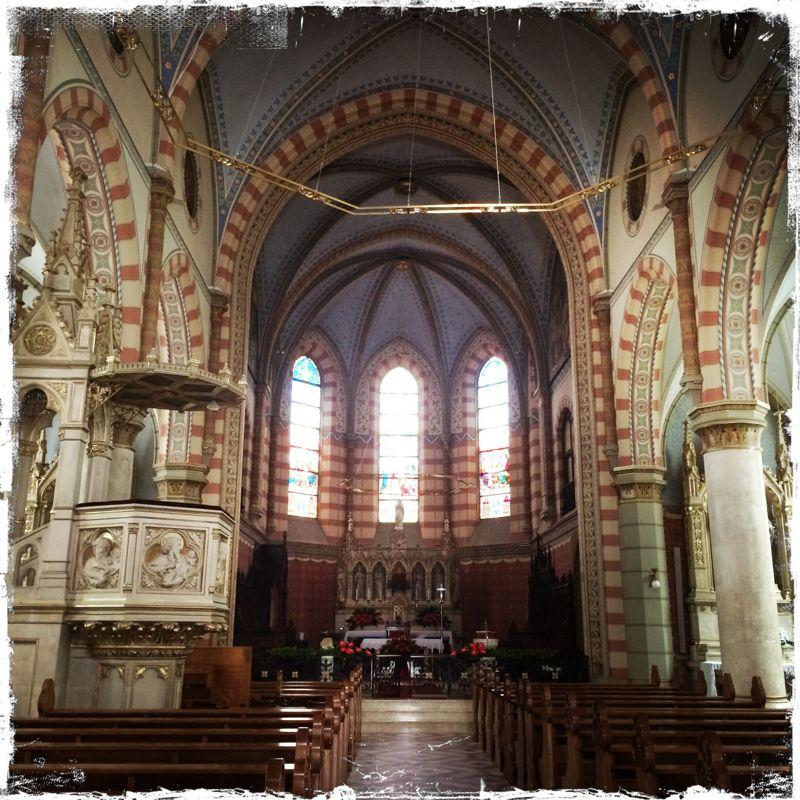 ... Herz Jesu, die 1884 - 1889 im neugotischen Stil erbaut wurde (Foto: balkanblogger)