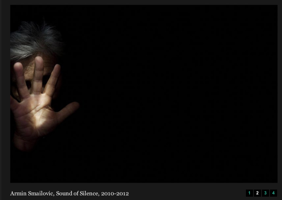 Armin Smailovic, Sound of Silence, 2010-2013