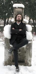 Der bosnische Künstler Damir Niksic