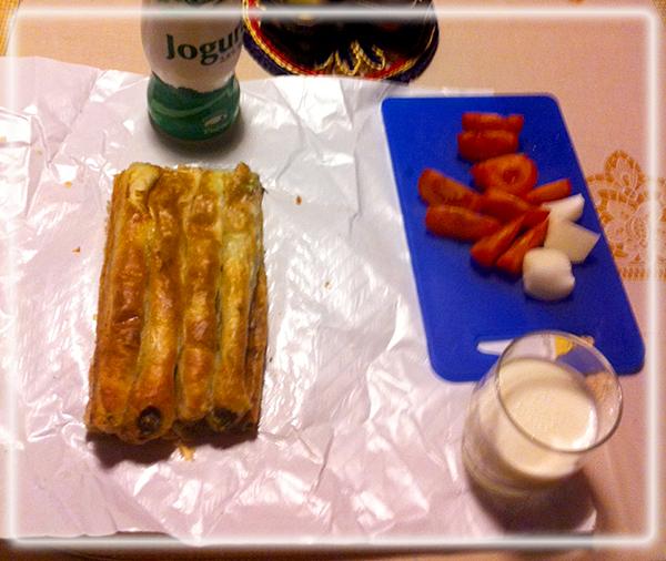 Pita, ein gerne gegessener Snack, den man mit nach Hause nimmt