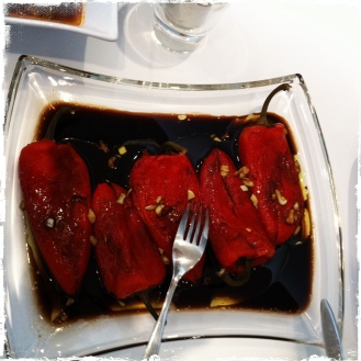 Gegrillte Paprika