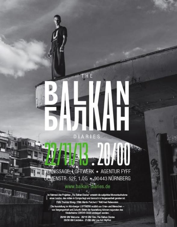 Balkan Diaries Ausstellung
