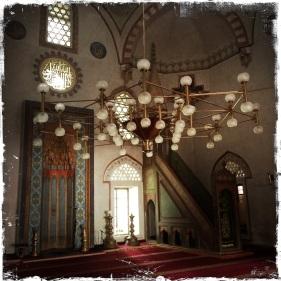 """...Kaisermoschee """"Careva Džamija"""" aus dem 15. Jh."""
