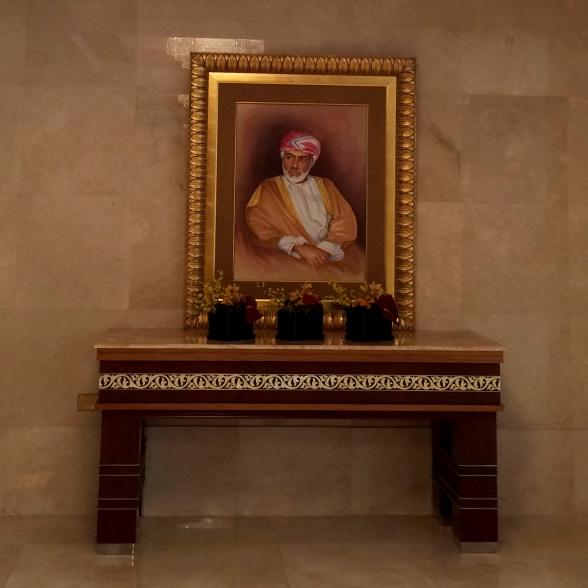 Sultan Qaboos von Oman