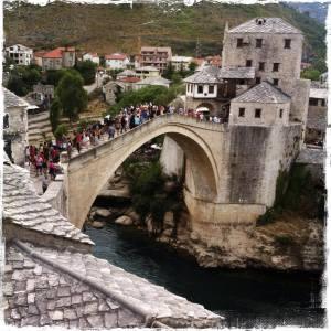 Mostar mit seiner Alten Brücke ist weltweit bekannt (Foto: balkanblogger)