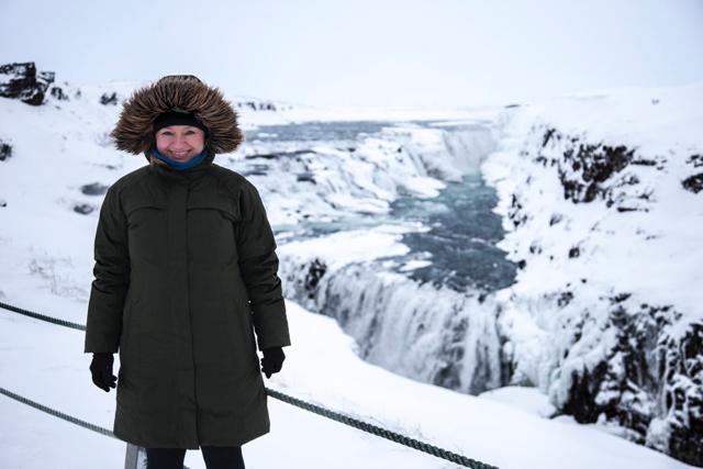 Ein atemberaubender Ausblick auf die Gullfoss-Wasserfälle (Foto: white-photo.com)