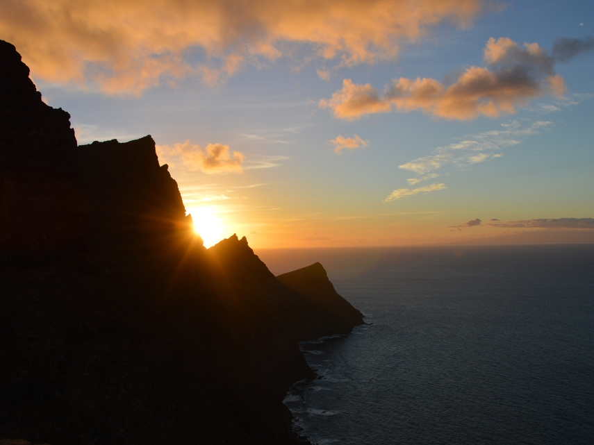 Sonnenuntergang auf Gran Canaria (Foto: balkanblogger)