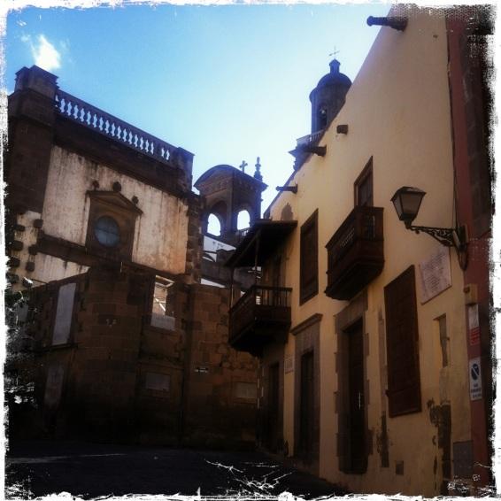 In der Altstadt von Las Palmas ... (Foto: balkanblogger.com)
