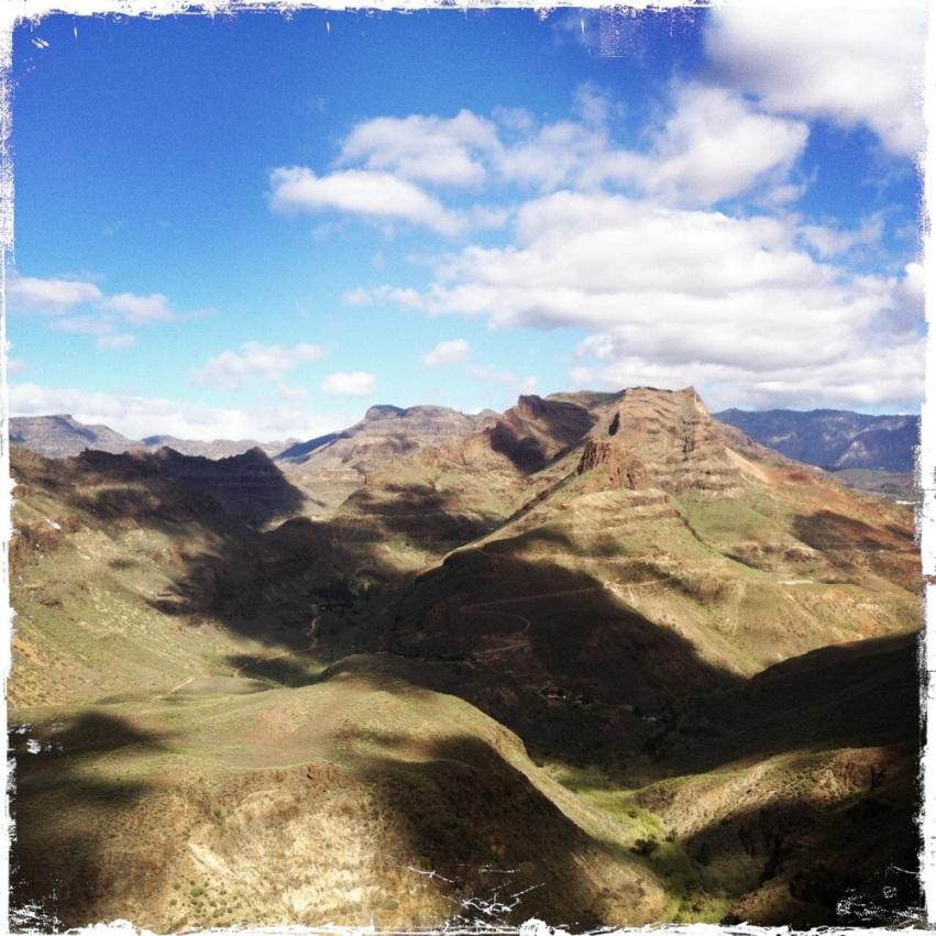 """Die Passhöhe, auch """"El Mirador de Fataga"""" genannt, ist definitiv einen Zwischenstopp wert!"""