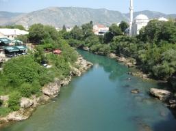 ... am Fluss Neretva ... (Foto: balkanblogger.com)