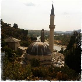 Die Osmanen bauten sie weiter im 15. Jahrhundert aus. Zu dieser Zeit entstehen die Hadzi-Alija-Mosche ... (Foto: balkanblogger.com)