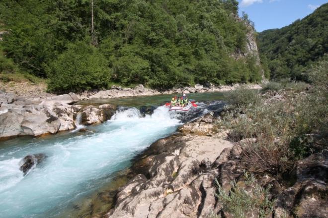 Die vierte Adrenalin-Station (Foto: komm-entdecke-bosnien.info)