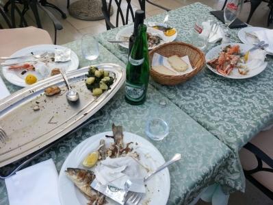 ... und sie schmeckte hervorragend, wie man sieht! (Foto: Balkanblogger)