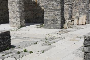 Das wundert auch nicht. Verlassen wurde die Stadt 1631, Morgan 1635 geboren (Foto: Balkanblogger)