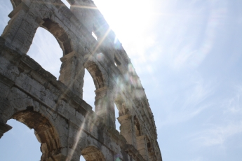 Pula ist berühmt für sein Amphitheater (Foto: Balkanblogger)