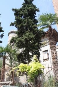 Wir sind beeindruckt über Villen und alte Herrenhäuser ... (Foto: Balkanblogger)