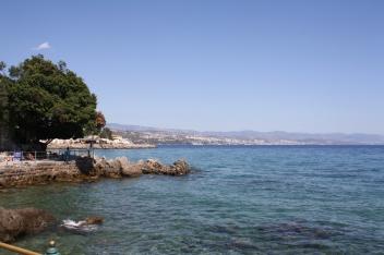 ... während man die Seele mit Blick auf das Meer belohnt. (Foto: Balkanblogger)