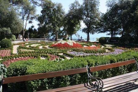 Auch ist die Stadt berühmt für ihre Parkanlagen (Foto: Balkanblogger)