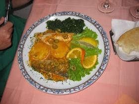 Unsere Favoriten: das Restaurant SIDRO - sehr gute Fleischgerichte ... (Foto: Balkanblogger)